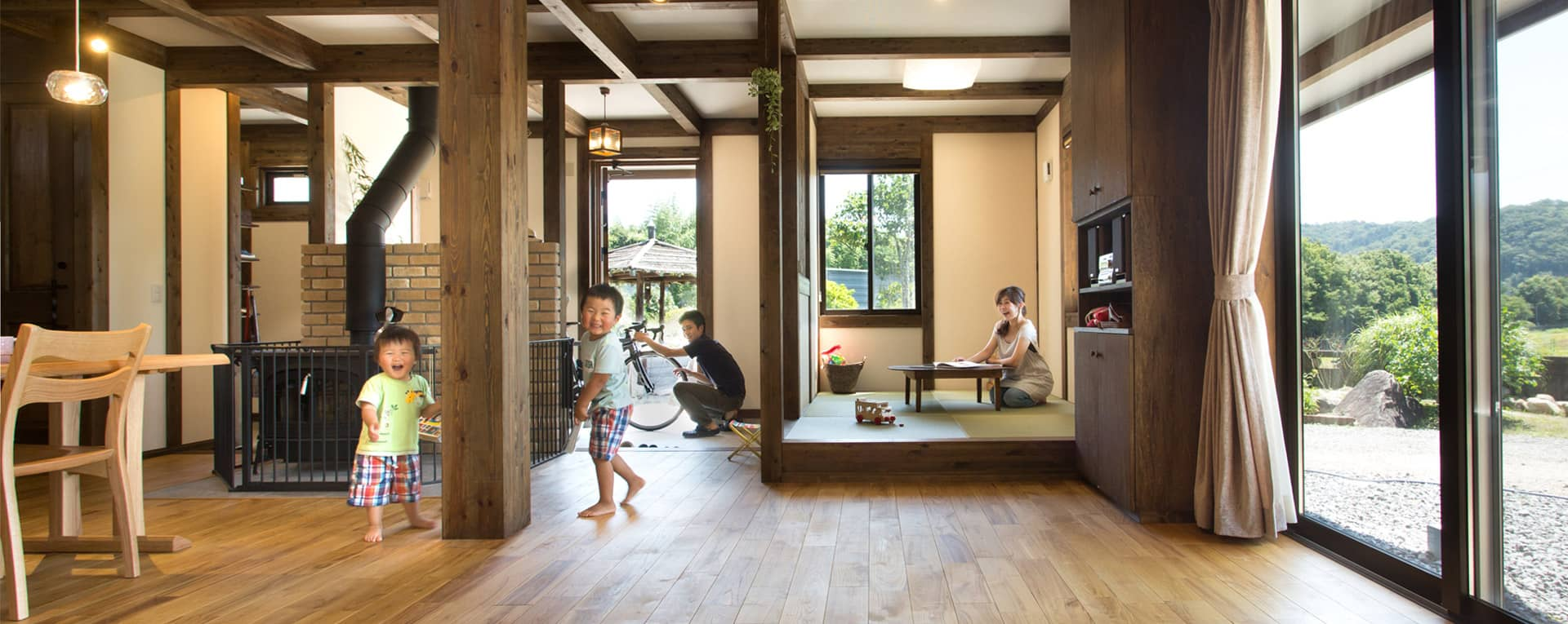 天然素材のひのきの家が「標準仕様」坪単価50万円~月々8万円台でスローライフを始めませんか?