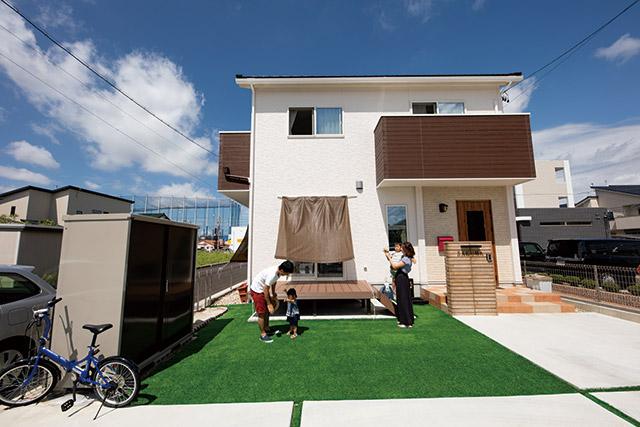四季を通じて、楽しく快適に暮らせる家